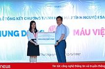 Hơn 21.000 nhân viên Samsung tham gia hiến máu nhân đạo