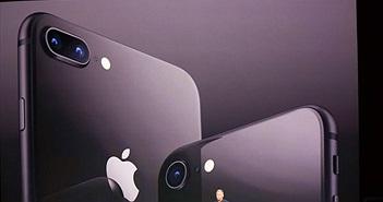 iPhone 8 và 8 Plus chính thức: màn hình True Tone, chip A11 Bionic, sạc không dây