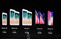 So sánh cấu hình iPhone X, 8, 8 Plus với các flagship Android vừa ra mắt