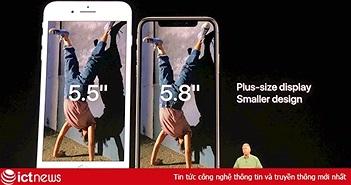IPhone Xs là phiên bản cập nhật của iPhone X sử dụng Face ID an toàn nhất từ trước đến giờ