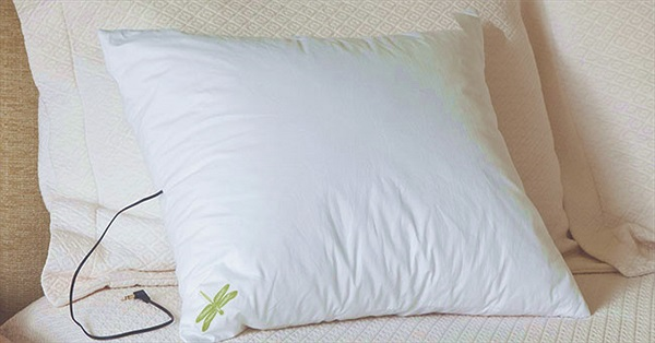 Gối thông minh Dreampad giúp chống chứng mất ngủ