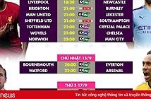 Lịch bóng đá Ngoại hạng Anh vòng 5 trên K+
