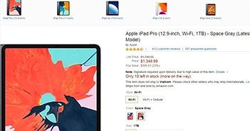 """iPad Pro giảm giá """"sốc"""" sau sự kiện ra mắt iPhone 11"""