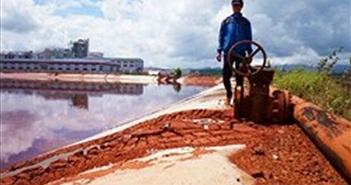 Nguy cơ về hồ chứa bùn đỏ Tân Rai đã được cảnh báo từ tháng trước