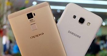 Đọ camera giấu mặt: Galaxy A8 đấu Oppo R7 Plus