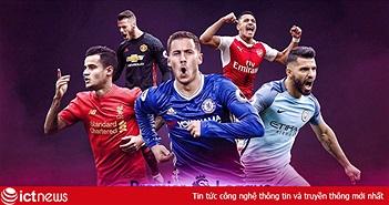 Lịch thi đấu Ngoại hạng Anh và V.League trên VTVcab cuối tuần