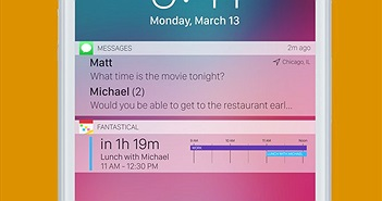 iPhone X và iOS 11 cho phép tắt thông báo từ màn hình khóa