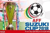 Lịch thi đấu AFF Cup 2018mới nhất