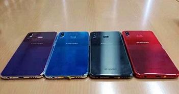 Samsung Galaxy A6s rò rỉ ảnh thực tế với camera kép, nhiều tuỳ chọn màu sắc
