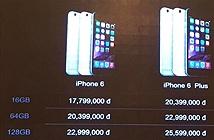 iPhone 6 và iPhone 6 Plus của FPT có giá từ 17,8 triệu và 20,4 triệu đồng