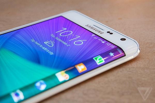 Samsung Galaxy S6 sẽ sở hữu màn hình cong về hai phía?