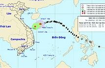 Bão số 13 suy yếu thành áp thấp nhiệt đới