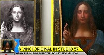 Chân dung chúa Jesus của thiên tài Leonardo Da Vinci đáng giá bao nhiêu?