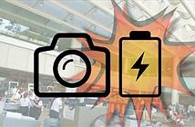 Pin máy ảnh nổ tại sân bay, nhiều người hoảng loạn