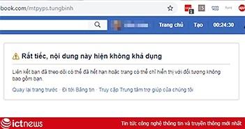 Sơn Tùng M-TP. Cuhiep cùng hàng loạt người nổi tiếng lại bị khóa tài khoản Facebook
