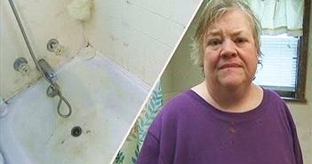 Người phụ nữ mắc kẹt trong bồn tắm... 5 ngày, đến suýt chết