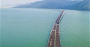 Cầu vượt biển dài nhất thế giới tại Trung Quốc sẽ có mạng 5G