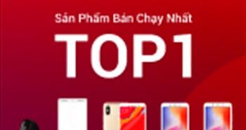 Xiaomi dẫn đầu lượng bán ra ở cả 3 nền tảng TMĐT trong ngày 11.11