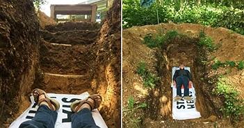 Độc đáo trường đại học cho sinh viên nằm xuống huyệt mộ