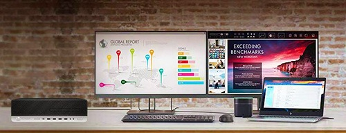 HP ELITEDESK 800 G5 SFF - PC siêu nhỏ gọn cho văn phòng hiện đại