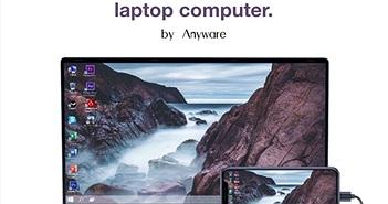 """PhoneBook """"hô biến"""" smartphone thành máy tính xách tay"""