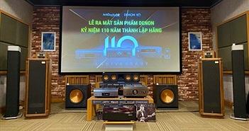Anh Duy Audio trình làng bộ sản phẩm Limited Edition kỷ niệm 110 năm thương hiệu Denon