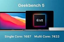 MacBook Air chạy chip M1 đánh bại cả MacBook Pro 16 inch về điểm hiệu năng