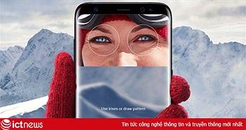 Cải tiến Iris Scanner trên Galaxy S9 cho khả năng nhận diện siêu nhanh
