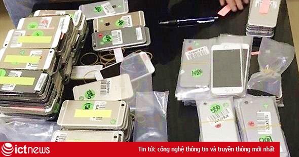 Mở đợt cao điểm chống buôn lậu điện thoại di động, hàng điện tử...dịp Tết Nguyên đán 2018