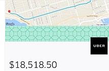 Uber nói lỗi kỹ thuật sau khi tính cước 18.000 USD cuốc xe 21 phút