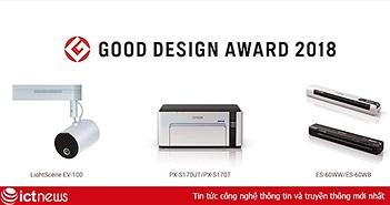 Epson nhận 8 giải thưởng thiết kế tốt nhất năm 2018