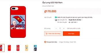 Ốp lưng smartphone in hình cổ vũ đội tuyển Việt Nam đắt khách