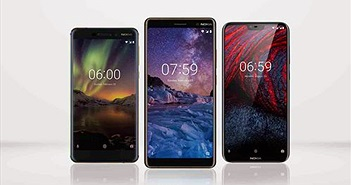 Nokia hiện đang là thương hiệu có nhiều dòng smartphone nhất được nâng cấp lên Android 9.0 Pie