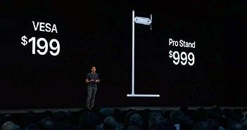 Ngoài chân đế 1.000 USD, màn hình Apple cần khăn chuyên dụng