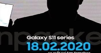 Samsung dự kiến sẽ trình làng Galaxy S11 vào ngày 18/2/2020
