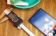 Oppo Reno 3 Pro 5G lộ ảnh thực tế: mỏng 7.7mm, màn hình đục lỗ