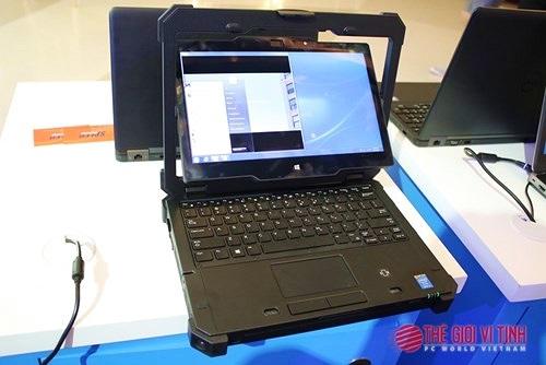 Chi tiết laptop siêu bền Dell Latitude Rugged Extreme 12