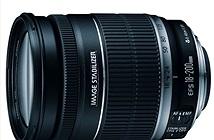 Sắp có ống kính siêu zoom Canon EF-S 18-300 hỗ trợ STM
