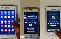 Smartphone chạy Tizen Samsung Z1 chính thức trình làng