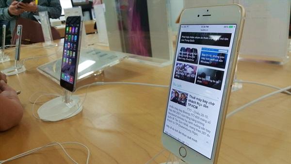 Ngày 14-11: iPhone 6 và iPhone 6 Plus chính hãng về VN