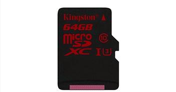 Thẻ nhớ microSD lưu trữ phim định dạng 4K