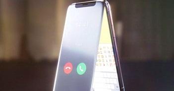 Sẽ ra sao nếu iPhone X là một chiếc điện thoại nắp gập?