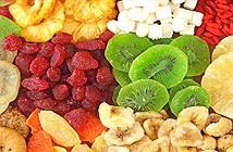 Ăn hoa quả sấy khô có tốt cho sức khỏe không?