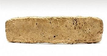 Thỏi vàng 500 năm tuổi của đế chế Aztec