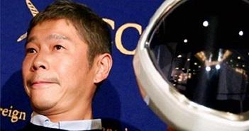 Tỉ phú Nhật Bản lên mạng tuyển bạn gái cùng bay quanh mặt trăng
