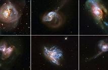 Sáu thiên hà đang xảy ra điều được dự báo làm văng Trái Đất