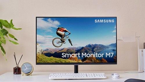Samsung ra mắt dòng màn hình thông minh không cần máy tính M7   M5 đầu tiên trên thế giới