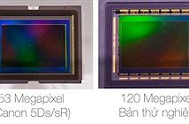 [CP+ 2015] Canon tiết lộ về cảm biến CMOS 120 Megapixel mới. Sẽ đi kèm với Global Shutter?
