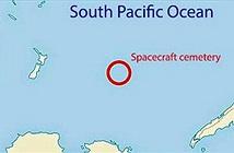 """""""Nghĩa địa vũ trụ"""" trên Thái Bình Dương có gì đặc biệt?"""