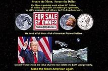 Donald Trump đề xuất lộ trình và ngân sách cho NASA quay lại mặt trăng